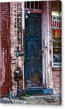 Time Tested Canvas Print by Christopher Holmes