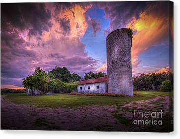 Barn Storm Canvas Print - Time Tested by Marvin Spates