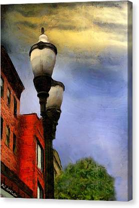 Time To Light The Lamps Canvas Print by RC deWinter