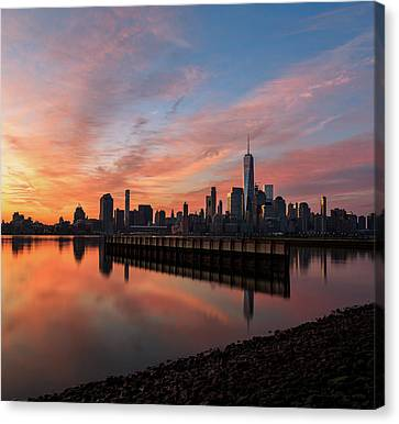Time To Reflect  Canvas Print by Anthony Fields