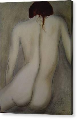 Time To Reflect Canvas Print by Bridgette  Allan