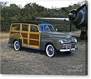 Time Travel 1946 Canvas Print by Steven Digman