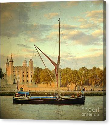 Canvas Print featuring the photograph Time Travel by LemonArt Photography