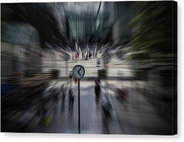 Time Traveller Canvas Print by Martin Newman