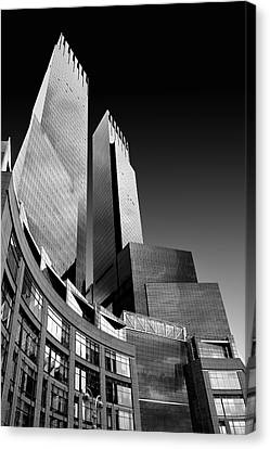 Time-warner Center Canvas Print