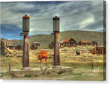 Time Warp In Bodie Canvas Print by Benanne Stiens