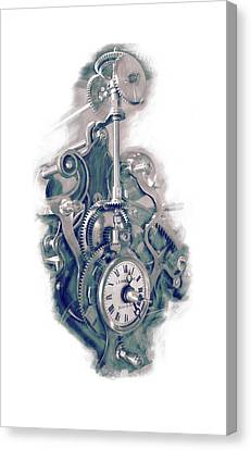 Time Works Canvas Print by Louis Prinsloo