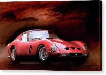 Timeless 250 Gto Canvas Print by Peter Chilelli