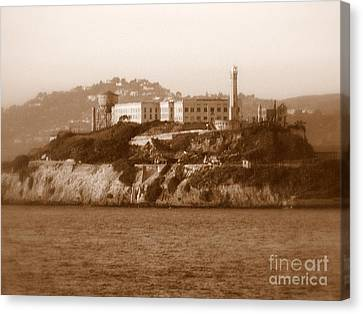 Timeless Alcatraz Canvas Print by Carol Groenen