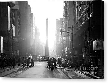 Timeless Buenos Aires Canvas Print