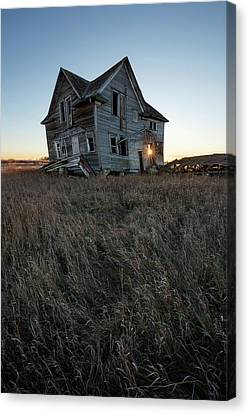 Abandoned Houses Canvas Print - Times Like These by Aaron J Groen