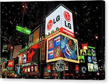 Times Square - Old New York City Canvas Print