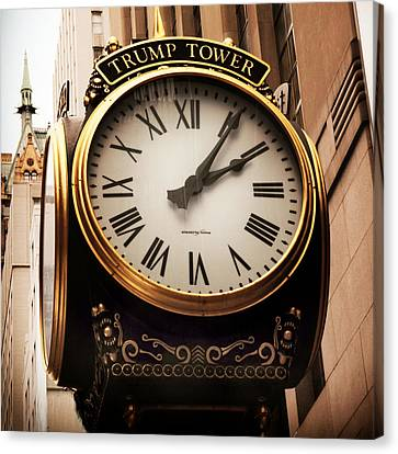 Time's Up Canvas Print by Jessica Jenney