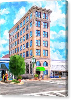 Timmerman Building - Andalusia - First National Bank Canvas Print