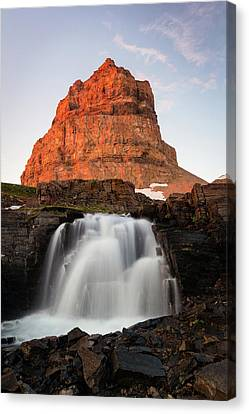 Timpanogos Waterfall Canvas Print