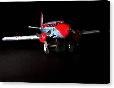 Tin Airplane  Canvas Print by Rudy Umans