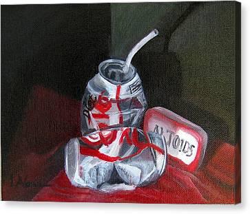 Tin Cans Canvas Print