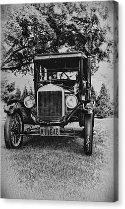 Tin Lizzy - Ford Model T Canvas Print by Bill Cannon