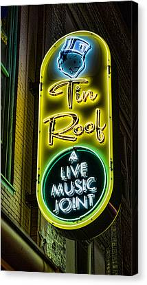 Tin Roof Canvas Print by Stephen Stookey