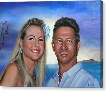 Tina And Tom Canvas Print