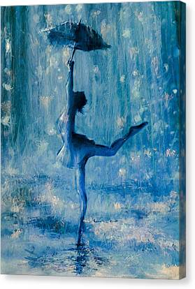 Tiny Dancer Canvas Print by Mark Tonelli