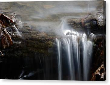 Tiny Waterfall Canvas Print