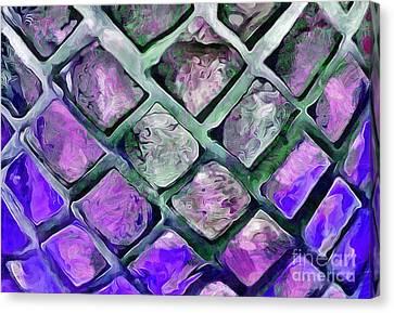 Tiny Windows Canvas Print by Krissy Katsimbras