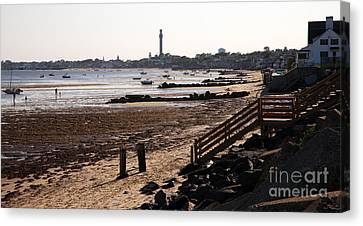 Chowder House Canvas Print - Tip Of The World by Brian Flannery