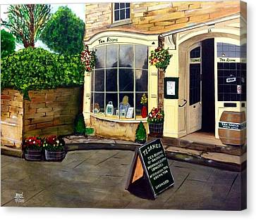 Tisanes - Tea Room Canvas Print