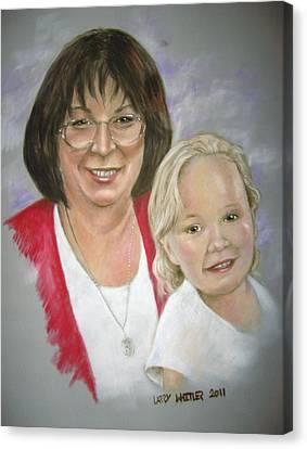 Tish And Naomi Canvas Print