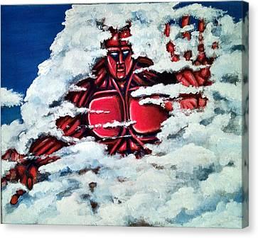 Titan Canvas Print