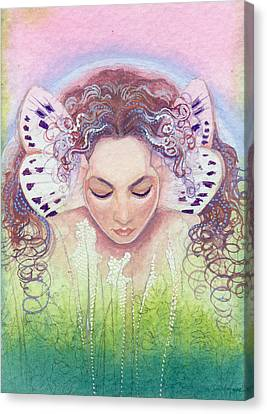Canvas Print featuring the painting Titania by Ragen Mendenhall