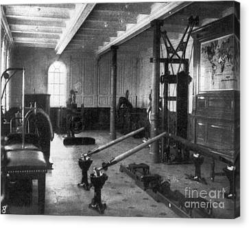 Titanic: Exercise Room, 1912 Canvas Print by Granger