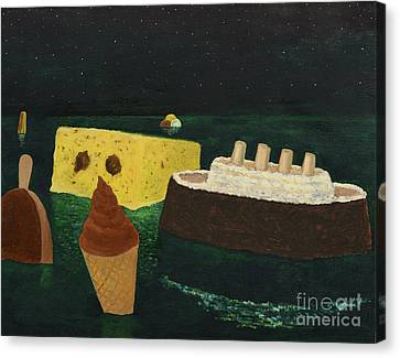 Titanic's Birthday Canvas Print