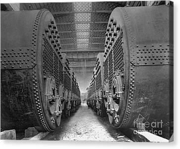 Boiler Canvas Print - Titanic's Boilers by The Titanic Project