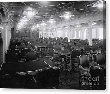 Titanic's First Class Dining Room Canvas Print