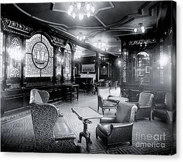 Titanic's First Class Smoking Room Canvas Print