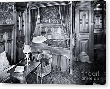 Titanic's First Class Stateroom B59 Canvas Print