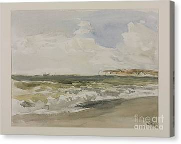 Collier Canvas Print - Title Cromer by MotionAge Designs