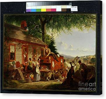 Title The Yankee Peddler Canvas Print by MotionAge Designs