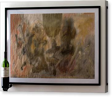 Title Withheld By Artist 002 Canvas Print by Tom Lee