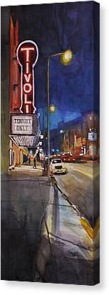 Tivoli Theatre Canvas Print by Spencer Meagher
