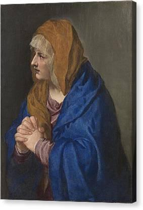 Tiziano Vecellio Di Gregorio Canvas Print by MotionAge Designs