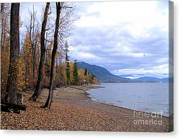 The Song Of October Canvas Print by Victor K