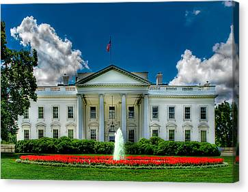 Tlhe White House Canvas Print