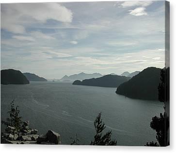 Tlupana Inlet Overlook Canvas Print
