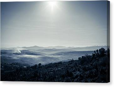 To A Peaceful Valley Canvas Print