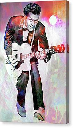 To Hear You Play Your Music When The Sun Go Down   Canvas Print by Mal Bray