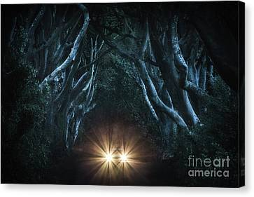 Brunch Canvas Print - To The End Of The Night by Evelina Kremsdorf