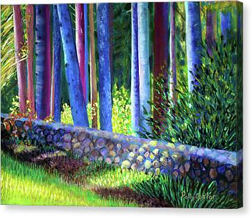 To The Left Of The Entrance To New Pond Farm Canvas Print
